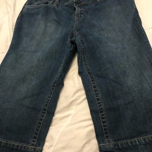 Lane Bryant denim capris size 20